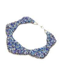 Nakamol | Blue Starla Necklace-cobalt | Lyst