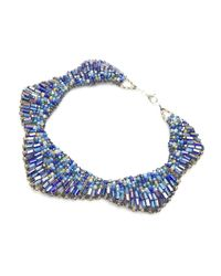 Nakamol   Blue Starla Necklace-cobalt   Lyst