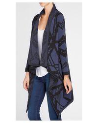 Blank NYC - Blue Jacket - Lyst