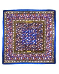 Hermès - Purple Vintage Scarf Chasse En Inde - Lyst