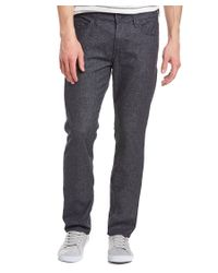 7 For All Mankind - Blue Slimmy Navy Slim Fit for Men - Lyst