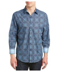Robert Graham | Blue Newton Abbot Classic Fit Woven Shirt for Men | Lyst