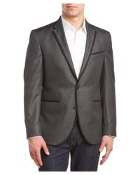 Kenneth Cole Reaction - Gray Evening Jacket for Men - Lyst