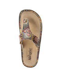Alegria - Brown Women's Carina Sandals - Lyst