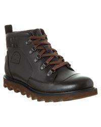 Sorel - Black Men's Mad Mukluk Waterproof Leather Boot for Men - Lyst