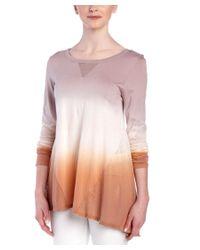Sloane Rouge - Pink Dip Dye Top - Lyst