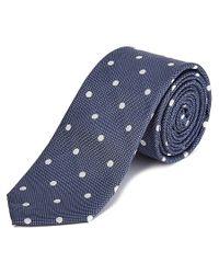 Original Penguin | Blue Navy Montego Dot Silk Tie for Men | Lyst
