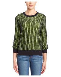 A.L.C. | Green Deidre Wool Sweater | Lyst