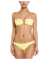 "Melissa Odabash | """"paris"""" Yellow Bikini Bottom | Lyst"