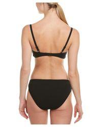 Gottex - Black High-waist Bikini Bottom - Lyst