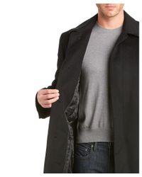 Hart Schaffner Marx - Black Stanley Wool & Cashmere Top Coat for Men - Lyst