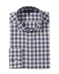 Tommy Hilfiger | Blue Eton Check Shirt for Men | Lyst
