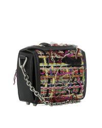 Alexander McQueen - Women's Multicolor Fabric Shoulder Bag - Lyst