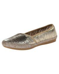 Easy Spirit - Metallic Women's Gannet Loafer Flats - Lyst