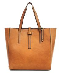Lucky Brand | Brown Leather Dylon Tote | Lyst