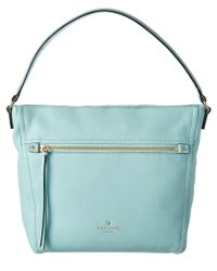 kate spade new york | Blue Cobble Hill Teagan Leather Hobo | Lyst