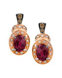 Le Vian - Metallic Exotics® Multicolor Diamond Earrings (5/8 Ct. T.w.) In 14k Gold - Lyst