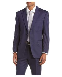Palm Beach - Blue Suit With Flat Front Pant for Men - Lyst