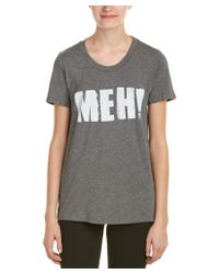 Rebecca Minkoff | Gray Graphic T-shirt | Lyst