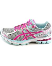 Asics - Gray Gt-1000 3 D Round Toe Synthetic Running Shoe - Lyst