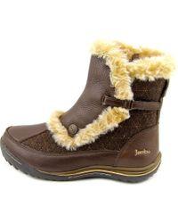 Jambu | Brown Eskimo Women Round Toe Leather Winter Boot | Lyst