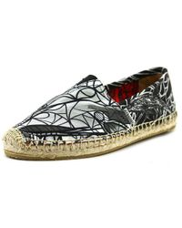 Joy & Mario | Gray La Jolla Women Round Toe Synthetic Espadrille | Lyst
