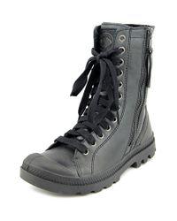 Palladium | Natural Pampa Hi Rise L Zip Women Round Toe Synthetic Boot | Lyst