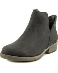 Rocket Dog | Black Tolua Round Toe Synthetic Bootie | Lyst