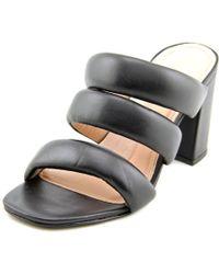 Matisse | Kelly Women Open Toe Leather Black Sandals | Lyst