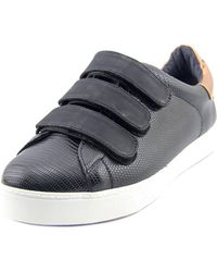 Circus by Sam Edelman | Black Chase Round Toe Synthetic Sneakers | Lyst
