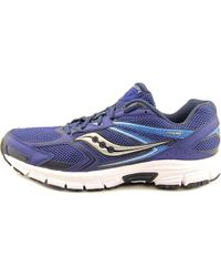 Saucony - Blue Cohesion 9 Round Toe Synthetic Sneakers for Men - Lyst