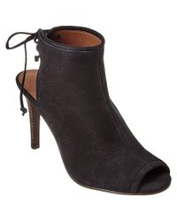 Lucky Brand - Black Saiff Leather Bootie - Lyst
