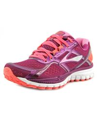 Brooks | Ghost 8 Women Round Toe Synthetic Pink Sneakers | Lyst