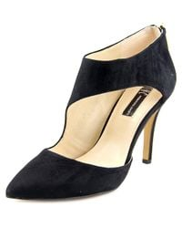INC International Concepts | Black Zizi Women Pointed Toe Suede Heels | Lyst