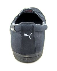 PUMA - Black Pc Extreme Vulc Cap Toe Canvas Loafer - Lyst