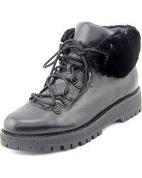 MICHAEL Michael Kors   Black Putnam Bootie Women Round Toe Leather Bootie   Lyst