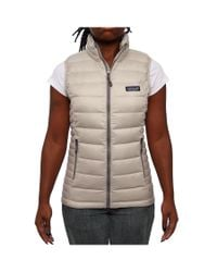 Patagonia | Gray Women Sweaters Vest Tailored Grey | Lyst