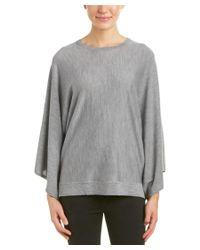 BCBGMAXAZRIA | Gray Shania Wool Sweater | Lyst