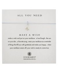 Dogeared | Metallic Silver All You Need Coral Branch Necklace | Lyst
