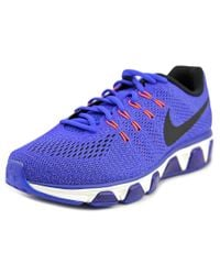 Nike | Blue Air Max Tailwind 8 Round Toe Synthetic Running Shoe | Lyst