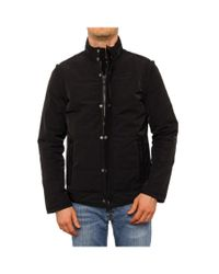 John Varvatos | Men Water Resistant Jacket Basic Jacket Black for Men | Lyst