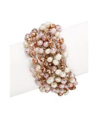 Saachi   Natural Mardi Beaded Bracelet   Lyst