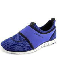 Cole Haan   Zerogrand Slip-on Sneaker Women Round Toe Synthetic Blue Sneakers   Lyst