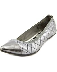 Anne Klein | Multicolor Offered Round Toe Synthetic Ballet Flats | Lyst