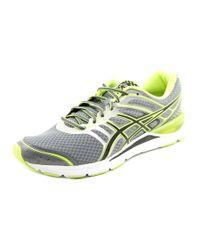 Asics - Gel-storm Men Round Toe Synthetic Gray Running Shoe for Men - Lyst