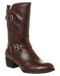 Pikolinos   Brown Hamilton Leather Boot   Lyst