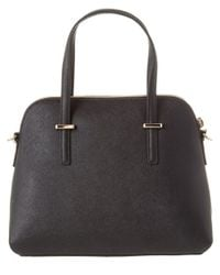 kate spade new york - Black Cedar Street Maise Leather Satchel - Lyst