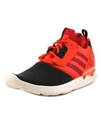 Adidas Originals | Red Zx 8000 Boost Round Toe Synthetic Running Shoe for Men | Lyst