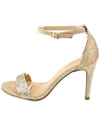 Call It Spring - Metallic Waylanda Women Open Toe Synthetic Gold Sandals - Lyst