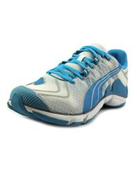 PUMA | Mobium Elite V2 Clear Men Round Toe Synthetic Gray Sneakers for Men | Lyst